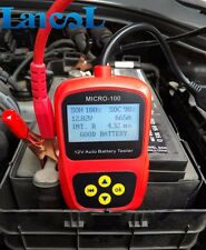 Free shipping! MICRO-100 12V Digital Automotive Car battery load analyzer tester