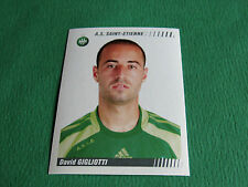 N°436 GIGLIOTTI AS SAINT-ETIENNE ASSE VERTS PANINI FOOT 2009 FOOTBALL 2008-2009