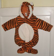 Old Navy Kids 0 - 6 Mont Tiger Custom Toddler 2 pc Halloween Costume Used Fluffy