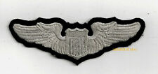PILOT WING PATCH US ARMY CORPS US AIR FORCE PILOT PIN UP GRADUATION GIFT OFFICER