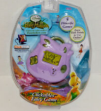Disney Pixie Hollow Clickables Fairy Handheld Game New
