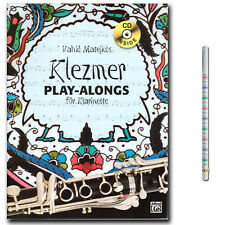 Klezmer Play-alongs für Klarinette CD, Bleistift - ALF20139G - 978393313664