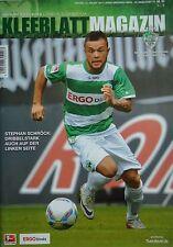 Programm 2011/12 SpVgg Greuther Fürth - FC Ingolstadt