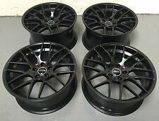 "20"" AVANT GARDE M359 STAGGERED BLACK ALLOY WHEELS 5X120 BMW 5 6 7 series"