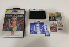 The Teminator - Complete - Sega Master System - FREE SHIPPING WORLDWIDE