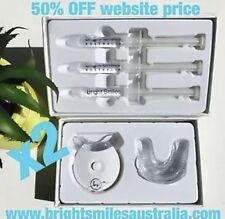 2 x Teeth Whitening Kit Hi Enjoy your Pearly White Smile Bright Smiles Australia