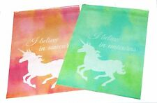 200 10x13'' Designer Pink Blue & Green Unicorn Poly Mailers Shipping Envelopes