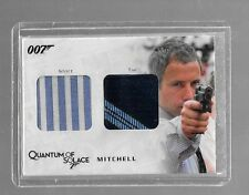 James Bond Archives dual costume card QC14 Mitchell shirt & tie 309/375