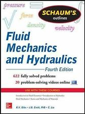Schaum's Outline of Fluid Mechanics and Hydraulics by Jack B. Evett, Cheng...