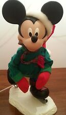 Mickey Mouse almost 2 feet tall Animated Skating Skater Disney Winter Holiday