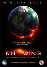 KNOWING - DVD - REGION 2 UK