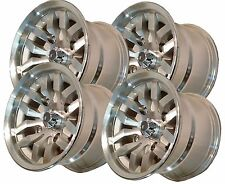 "12"" 12x6 12x8 4/137 ATV Rims Wheel some Kawasaki Mule Prairie Commander IRS Mach"