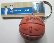NBA NEW 2016 San Antonio Spurs Spalding Basketball Key Chain