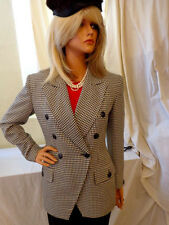 Must Have!!!!! Rare Vintage Christian Dior Jacket 2  Houndstooth JACKET MUST SEE