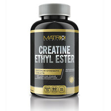 CREATINE ETHYL ESTER TABLETS HARDCORE 240 TABLETS BY MATRIX NUTRITION