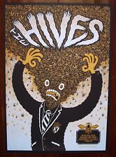 THE HIVES Istanbul Turkey 2013 Indie Rock Concert mini Poster