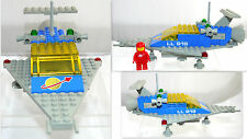 1979 LEGO SYSTEM SPACE CLASSIC SET # 918 ONE MAN SPACE SHIP TRANSPORT + INST DVD
