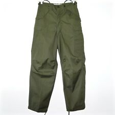 VINTAGE US ARMY M51 M1951 FIELD TROUSERS PANTS KOREAN WAR SMALL LONG W30 NOS