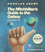 The Hitchhiker's Guide to the Galaxy by Douglas Adams (2014, CD, Unabridged)
