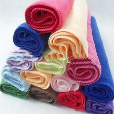 10pcs Candy Farben Mikrofaser Handtuch Gästetuch Gesichtstuch Neu MIDE