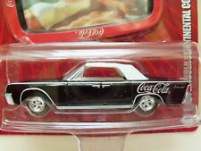JOHNNY LIGHTNING - COCA-COLA BRAND - 1961 LINCOLN CONTINENTAL CONVERTIBLE