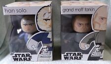 STAR WARS MIGHTY MUGGS 2008 HAN SOLO & GRAND MOFF TARKIN  SETS