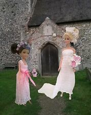 Barbie knitting patterns - Bridal and Lingerie