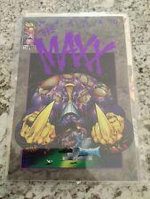 Wizard Presents The Maxx 1/2  C.O.A. NM Unread 9.4