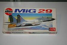 Airfix 1:72 Mig 29 Fulcrum kit 04037, 1990-94 type 10 box, complete, unmade