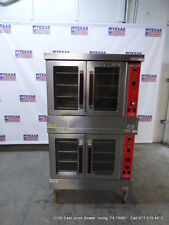 Vulcan Gas Double Stack Full Size Convection Oven