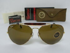 New Vintage B&L Ray Ban Outdoorsman II Tortuga Gold Tortoise B-15 62mm  L1712