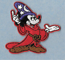 Mickey Mouse - Disney - Fantasia - Embroidered Iron On Applique Patch