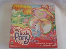 2003 MY LITTLE PONY RACE THRU PONYVILLE TO CELEBRATION CASTLE GAME