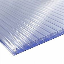 4mm Clear Polycarbonate Sheet 1220mm x 610mm Greenhouse replacement *Stock Sale*
