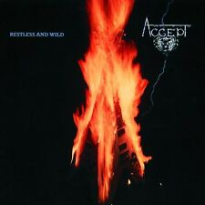 """ACCEPT """"RESTLESS AND WILD"""" CD NEUWARE!!!!!!"""
