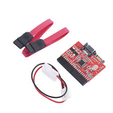 New 2 in 1 IDE to SATA / SATA to IDE Adapter Converter Supports Serial ATA EA