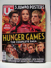 US MAGAZINE COLLECTOR'S EDITION. HUNGER GAMES. 3 POSTERS. DISPLAY TIL 03/3/2016