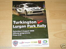 2008 Lurgan Park Rally Official Programme