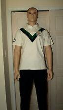 POLO RALPH LAUREN White Custom Fit RLPC Football Club Rugby Shirt L NWT