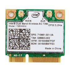 Intel Dual Band Wireless-AC 7260 7260HMW 802.11abgn+ac 2x2 Wi-Fi Bluetooth 4.0