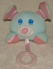 Fisher Price Cozies Thermal Grabber Mouse Puppy Dog Plush Teether Squeaks 1998