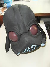 "STAR WARS RARE @14"" DARTH VADER HELMET PLUSH FIGURE COLLECTOR TOY ANGRY BIRDS"