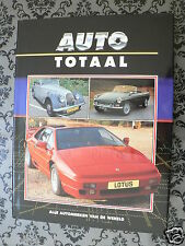 AUTO TOTAAL ENGLISH SPORTCARS,MG TD 1950,MARCOS 1800,LOTUS ESPRIT,ELAN S3,JENSEN