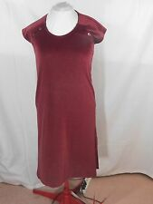 Women's Burgundy Dress By Billy Jack For Her Size 13/14
