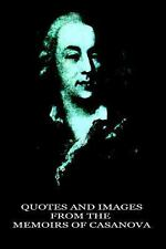 Quotes and Images from the Memoirs of Casanova by Jacques Casanova Seingalt...
