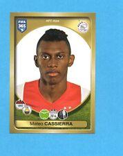 FIFA 365-2017-PANINI ITA-Figurina n.202- CASSIERRA - AJAX -NEW