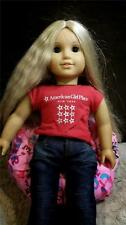"BEAN BAG Cheeleader Hot Pink FOR 18"" AMERICAN GIRL DOLL or other dolls"