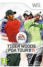 TIGER WOODS PGA TOUR 11 Wii NINTENDO GAME UK PAL