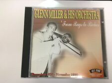 Glenn Miller - From Rags to Riches (Dec. 1938 - Nov. 1939/Live Recording 2003 CD
