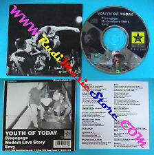 CD Singolo Youth Of Today Disengage USA 1990 CARDSLEEVE no mc lp vhs(S28)
